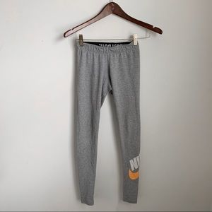 Nike | Just Do It Grey Leggings XS